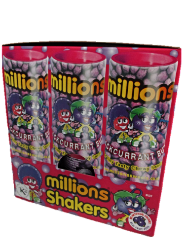 PP20 MILLIONS BLACKCURRANT BUZZ SHAKERS